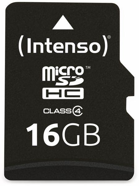 MicroSDHC Card INTENSO, 16 GB