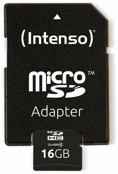 MicroSDHC Card INTENSO, 16 GB - Produktbild 4