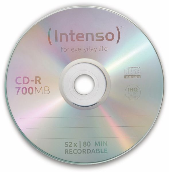 CD-R Spindel Intenso - Produktbild 2