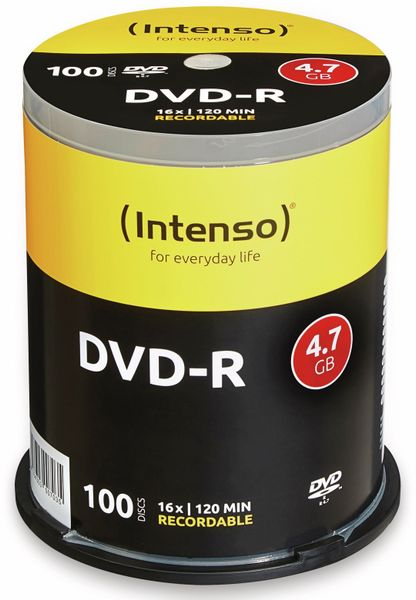 DVD-R Spindel INTENSO, 100 Stück
