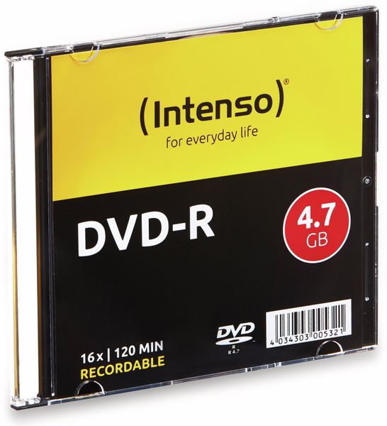 DVD-R INTENSO Slim Case - Produktbild 2