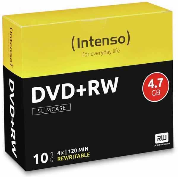 DVD+RW Intenso Slim Case