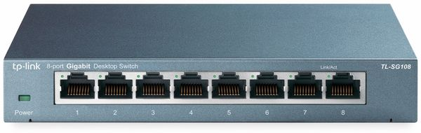 Gigabit Netzwerk-Switch TP-LINK TL-SG108, 8-Port