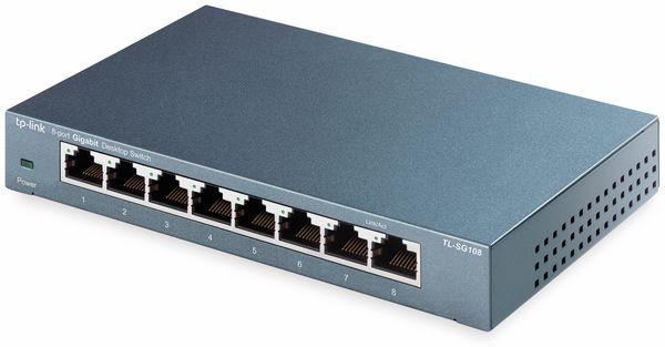 Gigabit Netzwerk-Switch TP-LINK TL-SG108, 8-Port - Produktbild 2