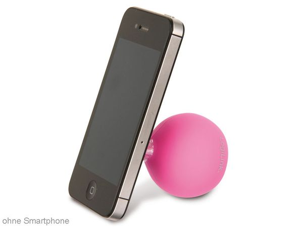 multimedia-Lautsprecher LOGILINK SP0031 Iceball, pink - Produktbild 2