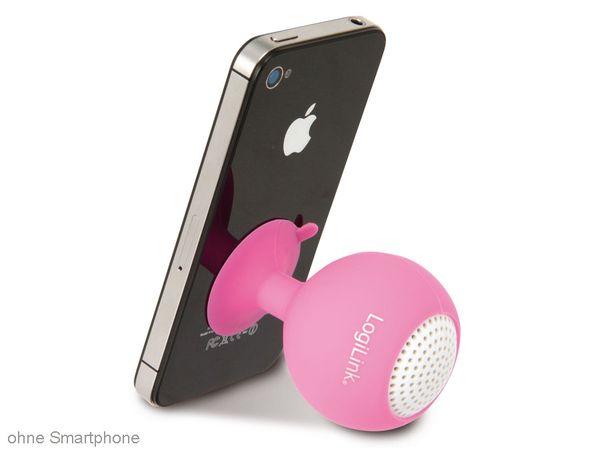 multimedia-Lautsprecher LOGILINK SP0031 Iceball, pink - Produktbild 3