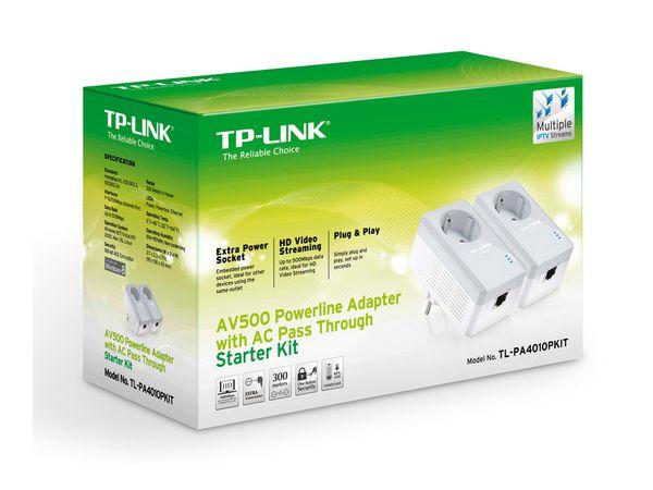 Powerline Adapter-Set TP-LINK TL-PA4010PKIT, 500 Mbps - Produktbild 3