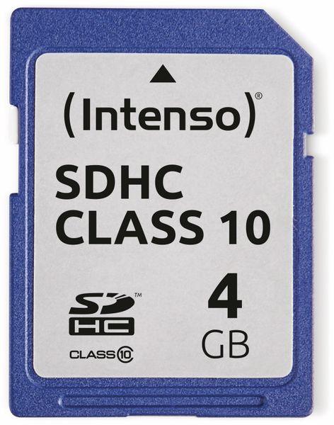SDHC Card INTENSO 3411450, 4 GB, Class 10