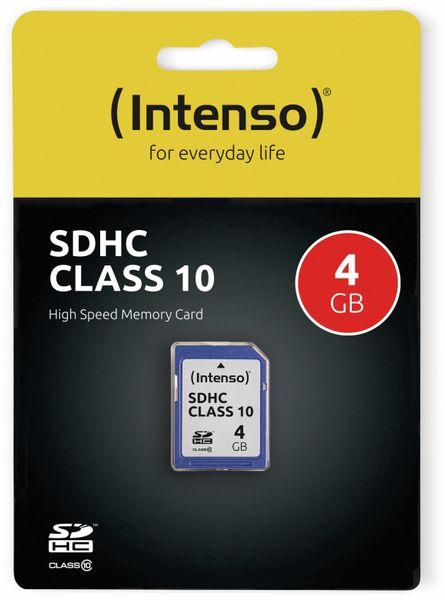 SDHC Card INTENSO 3411450, 4 GB, Class 10 - Produktbild 2