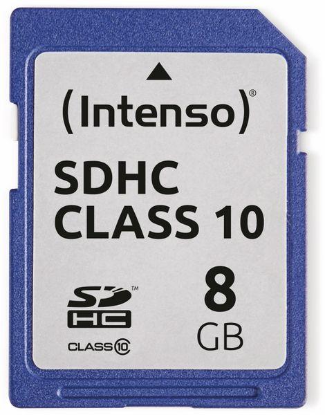 SDHC Card INTENSO 3411460, 8 GB, Class 10