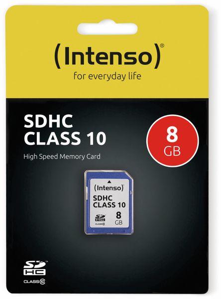 SDHC Card INTENSO 3411460, 8 GB, Class 10 - Produktbild 2