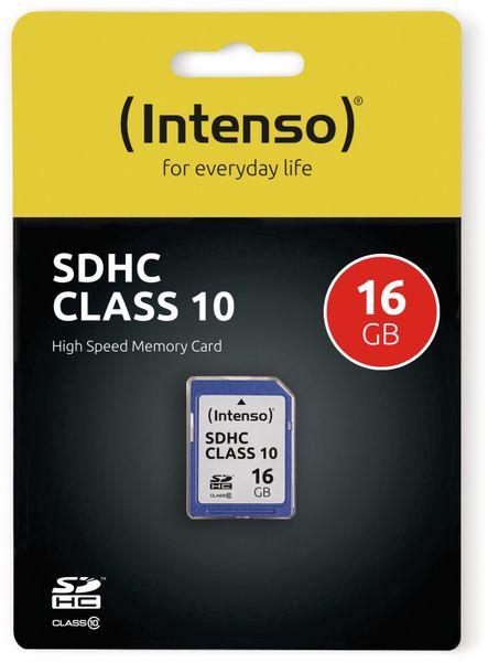 SDHC Card INTENSO 3411470, 16 GB, Class 10 - Produktbild 2