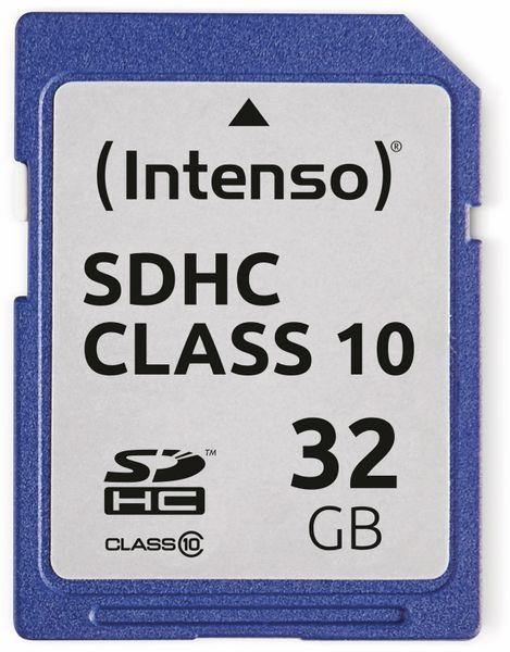SDHC Card INTENSO 3411480, 32 GB, Class 10