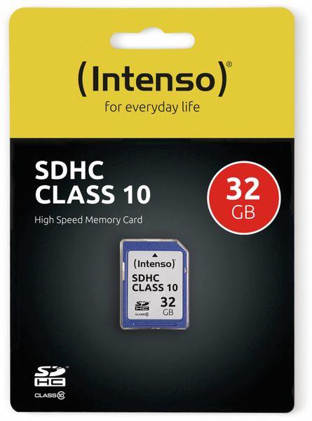 SDHC Card INTENSO 3411480, 32 GB, Class 10 - Produktbild 2