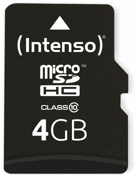 MicroSDHC Card INTENSO 3413450, 4 GB