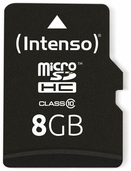 MicroSDHC Card INTENSO 3413460, 8 GB