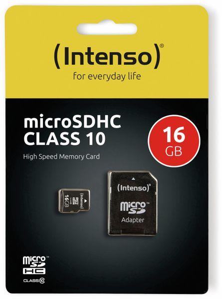 MicroSDHC Card INTENSO 3413470, 16 GB - Produktbild 2