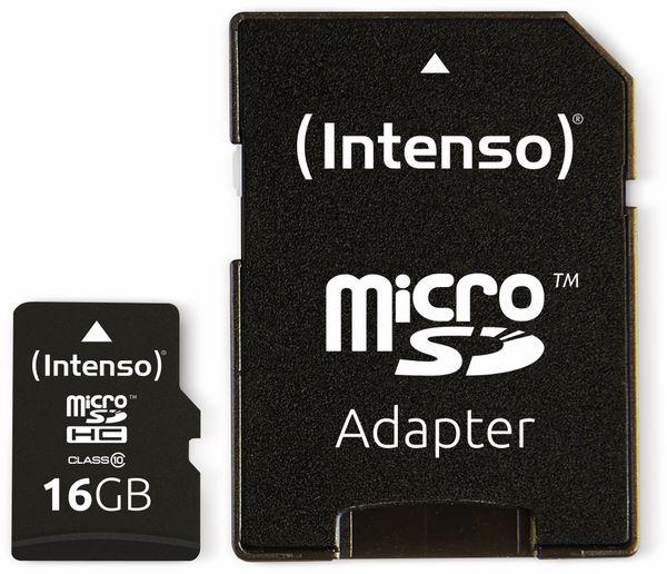 MicroSDHC Card INTENSO 3413470, 16 GB - Produktbild 3