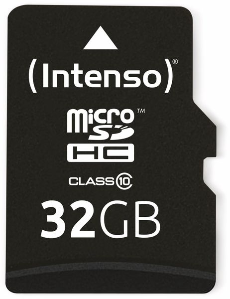 MicroSDHC Card INTENSO 3413480, 32 GB