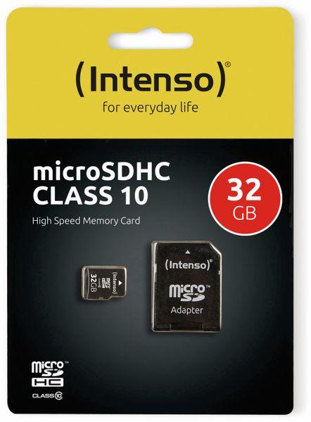 MicroSDHC Card INTENSO 3413480, 32 GB - Produktbild 2