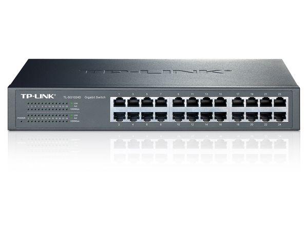 Gigabit Netzwerk-Switch TP-LINK TL-SG1024D, 24-Port