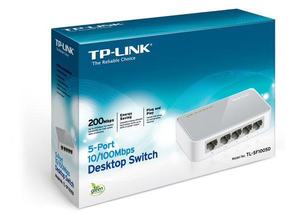Netzwerk-Switch TP-LINK TL-SF1005D, 5-Port - Produktbild 7