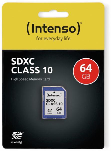 SDXC Card INTENSO 3411490, 64 GB, Class 10 - Produktbild 2