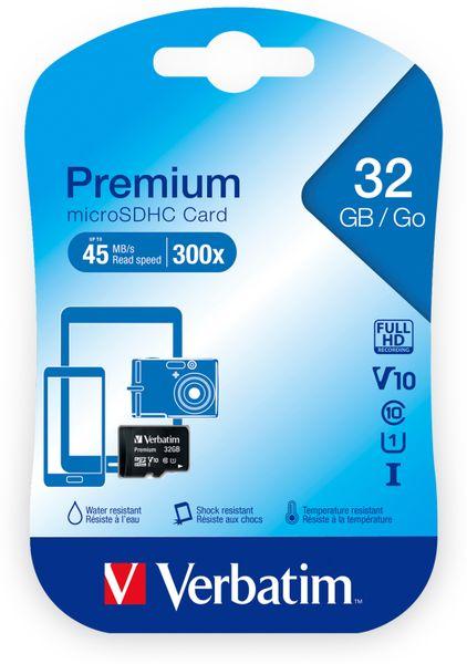 MicroSDHC Card VERBATIM 44013, 32 GB - Produktbild 2