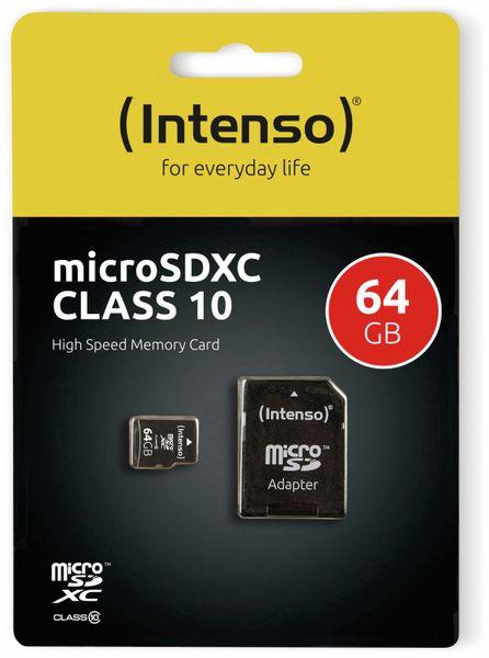 MicroSDXC Card INTENSO 3413490, 64 GB - Produktbild 2