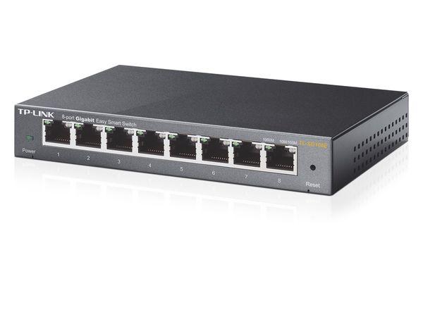 Gigabit Netzwerk-Switch TP-LINK TL-SG108E, 8-Port