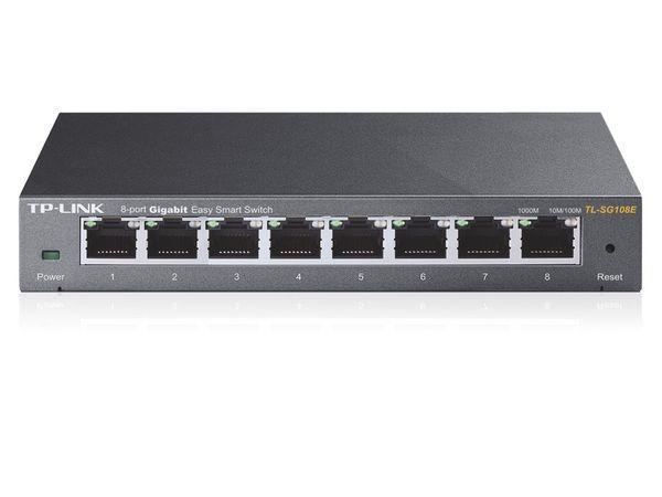 Gigabit Netzwerk-Switch TP-LINK TL-SG108E, 8-Port - Produktbild 3