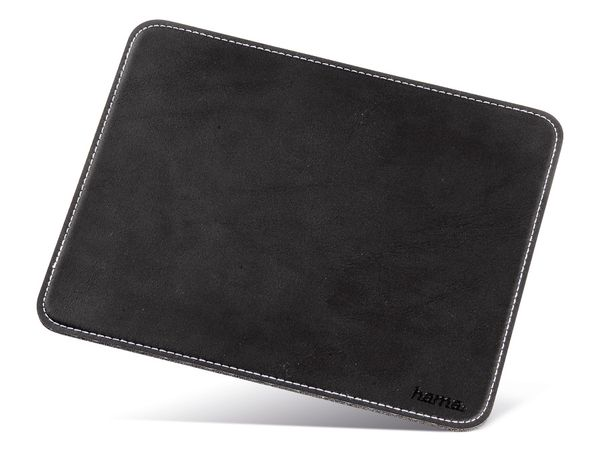 Maus-Pad HAMA, 220x180 mm, schwarz