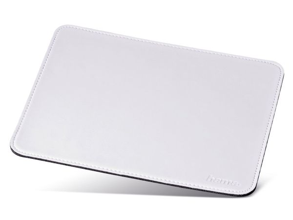 Maus-Pad HAMA, 220x180 mm, weiß