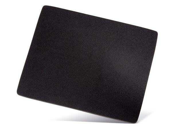 Maus-Pad HAMA, 223x183 mm, schwarz