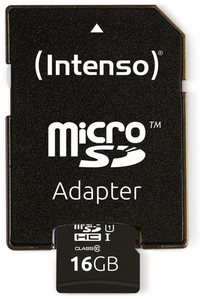 MicroSDHC Card INTENSO 3423470, UHS-I, 16 GB - Produktbild 4