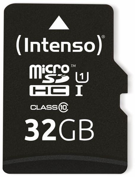 MicroSDHC Card INTENSO 3423480, UHS-I, 32 GB