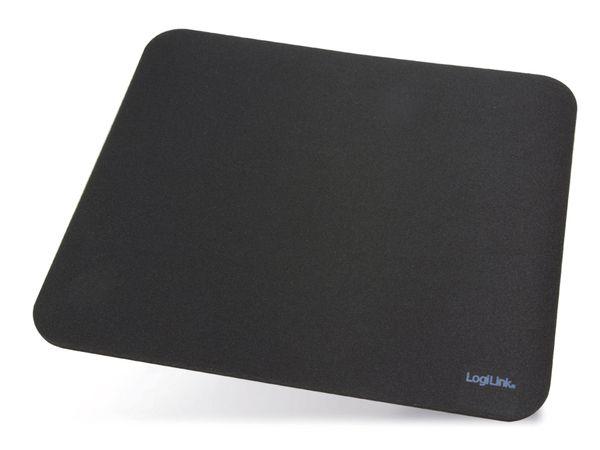 Maus-Pad LOGILINK ID0117, 230x205 mm, schwarz