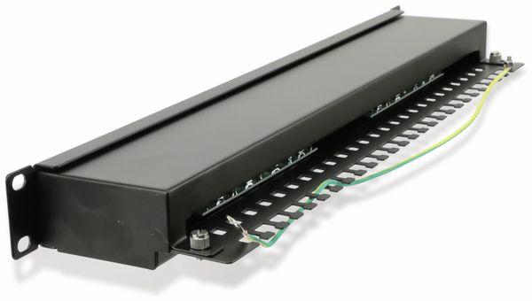 """CAT.6 Patchpanel RED4POWER R4-N117S, 16-fach, 19"""", schwarz - Produktbild 3"""