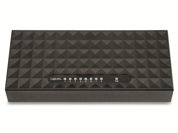 Gigabit Netzwerk-Switch LOGILINK NS0106, 8-port - Produktbild 4