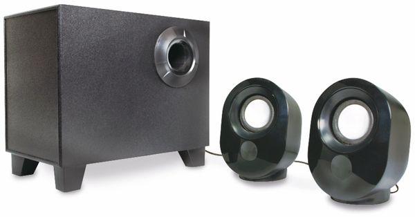2.1 Stereo-Lautsprecher LOGILINK SP0045, schwarz