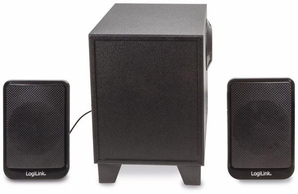 2.1 Stereo-Lautsprecher LOGILINK SP0045, schwarz - Produktbild 2