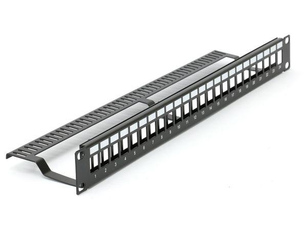 "Patchpanel Red4Power KPP-19-24-E, 19"", 24-port - Produktbild 2"