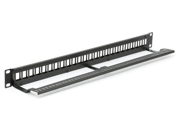 "Patchpanel Red4Power KPP-19-24-E, 19"", 24-port - Produktbild 3"