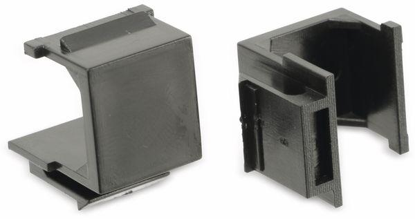 Abdeckung Red4Power KM-AU-S, schwarz, 4 Stück - Produktbild 3