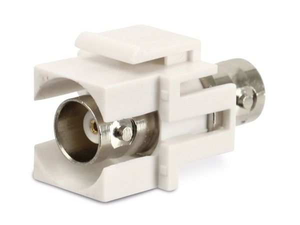 Einbau-Modul Red4Power KM-BB-W, BNC-Kupplungen, weiß - Produktbild 2