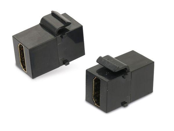 Einbau-Modul Red4Power KM-HH-S, HDMI, schwarz