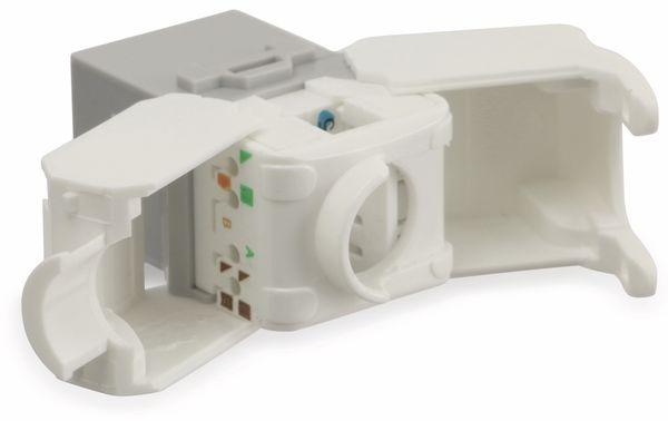 Einbau-Modul Red4Power KM-C6U-G, CAT.6, grau - Produktbild 3
