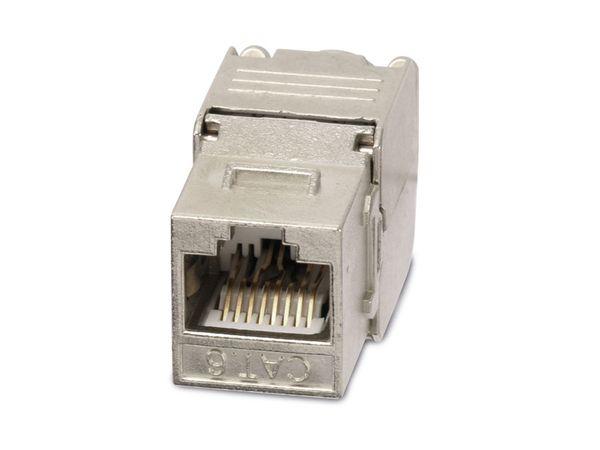 Einbau-Modul Red4Power KM-C6G, CAT.6, Metall - Produktbild 2