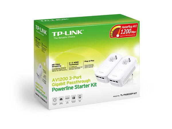 Gigabit-Powerline-Set TP-LINK TL-PA8030PKIT, AV1200, 3 LAN-Ports - Produktbild 3