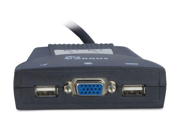 KVM Switch KVM-LS-21JA, 2-port